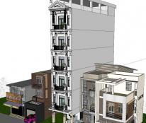 Cho thuê nhà 7 tầng (1 hầm, 1 trệt, có thang máy) mặt đường Ngô Gia Tự,  KDC Chánh Nghĩa, TP. Thủ Dầu Một.