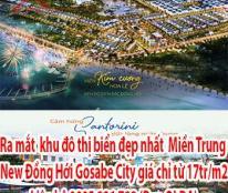 Ra mắt  khu đô thị biển đẹp nhất miền Trung - New Đồng Hới Gosabe City giá chỉ từ 17tr/m2