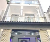 Cho thuê nhà mới (4.1 x 11m) 2 lầu, hẻm xe hơi 158 Bùi Minh Trực P5 Q8