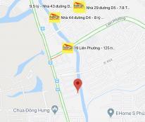 Bán Đất KDC Hoàng Anh Minh Tuân. Phường Phước Long B, Quận 9 , lô 2 mặt tiền