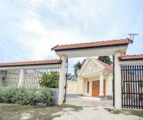 Bán biệt thự 600 m2 thổ cư- mặt tiền đường nhựa 15m QL22, xã Phước Hiệp,Củ Chi ,TPHCM .
