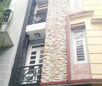 Cho thuê nhà (10*6) 2 lầu, 2pn, 3wc hẻm xe hơi 125 Nguyễn Thị Tần P2 Q8