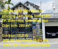 Cần bán gấp biệt thự tại phường Tam Hiệp, trung tâm TP. Biên Hòa, tỉnh Đồng Nai