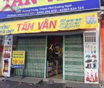 Chính chủ cần bán nhà mặt tiền đường trung tâm TP Quảng Ngãi.