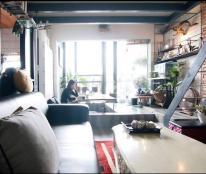 Bán nhà chung cư Trương Định, trung tâm Quận 3, thiết kế đẹp dạng loft house, 3PN 2WC, 100m2