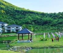 Cần Tiền Bán Căn BT Dãy 3 Hasu Village , Kỳ Sơn, HB Full Nội Thất. View Suối, Núi Đồi