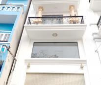 Cho thuê nhà mới (4m*13m) lửng, 2 lầu, ST hẻm xe hơi Phạm Hùng P4 Q8
