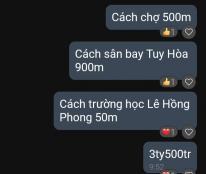 Nhà bán 62 Thăng Long phường Phú Thạnh tp Tuy Hòa