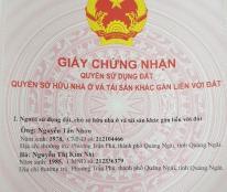 Bán Đất hẻm 101 Đường Phạm Văn Đồng, Tp. Quảng Ngãi