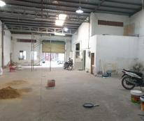Nhà xưởng, kho cho thuê 450m2 Phan Huy Ích, Tân Bình, điện 3fa, tải 10 tấn đậu trước kho