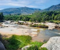 Bán đất làm trang trại tuyêt đẹp ngay chân núi Hòn Bà, xã Suối Tân, huyện Cam Lâm 240000m suối bao quanh khu đất