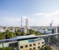 Cho thuê căn hộ Monarchy B tầng cao nội thất đẹp giá 12 triệu/th - Toàn Huy Hoàng