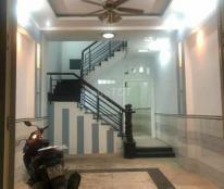 Nhà Nguyên Căn 1 triet 3 lầu 4 phòng, hẻm 6m khu vực Tân Phú - TP HCM
