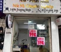 Sang nhượng mặt bằng kinh doanh tại số 149B Trương Định, Hoàng Mai, Hà Nội.