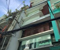 Cần bán gấp nhà hẻm 8m Sư Vạn Hạnh, P. 13, Q. 10, diện tích: 4.3m x 18m. Kết cấu: 3 lầu nhà mới đẹp