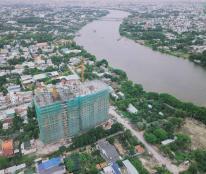Bán CH ven sông sát Q12, chuẩn bị nhận nhà, căn 2PN, 58m2 giá siêu rẻ chỉ 23tr/m2, LH 0972268070