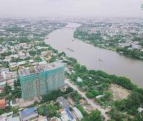 Bán căn 2PN 48m2 1,105tỷ căn tầng 8 BC view sông Sài Gòn, KCH Vista Riverside sát Q12 từ 23tr/m2
