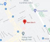 Bán nhà mặt phố đường Nam Sơn 3, Phường Hòa Cường Bắc, Quận Hải Châu. DT: 80.9m2, giá: 5.4 tỷ
