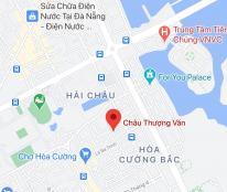 Bán lô đất 2 mặt tiền đường Châu Thượng Văn, phường Hòa Cường Bắc, quận Hải Châu. DT 76,6m2, 4,1 tỷ