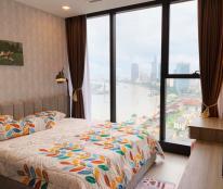 Bán căn hộ Vinhomes Bason 2PN DT 68m2, nội thất cao cấp giá tốt nhất. 1 phòng khách 2 PN 2WC