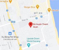 Bán đất đường Bà Huyện Thanh Quan, phường Mỹ An, quận Ngũ Hành Sơn. DT 215m2 giá 10,5 tỷ