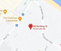 Bán lô đất 2 mặt kiệt 5m đường Phan Tứ, khu phố Tây, cách biển 150m, DT: 119 m2, giá chỉ 8,7 tỷ