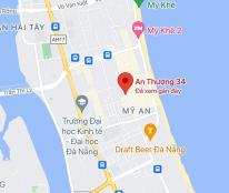 Bán đất đường An Thượng 34, phường Mỹ An, quận Ngũ Hành Sơn. DT: 81m2 giá: 9,5 tỷ