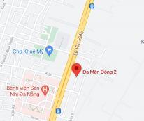 Bán đất đường Đa Mặn Đông 2, phường Khuê Mỹ, quận Ngũ Hành Sơn. DT 90m2 giá: 3,8 tỷ