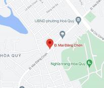 Bán đất đường Mai Đăng Chơn, phường Hòa Quý, quận Ngũ Hành Sơn. DT: 80m2 giá: 1.5 tỷ
