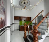 Nhà mới 3 lầu 5PN/ SD 160m2 Nguyễn Ánh Thủ, quận 12. Giá 2 tỷ 800tr (TL)