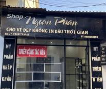 Cần chuyển nhượng shop mỹ phẩm ở đường Phan Thái Ất, TP Vinh