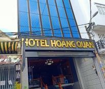 Bán khách sạn Dương Quảng Hàm, Gò Vấp, 12x28m, hầm trệt 5 lầu, DT 300tr/th, giá 31 tỷ TL