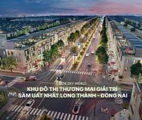 Nhà phố khu Sapphire dự án Gem Sky World khu đô thị sân bay Long Thành 990tr-25% nhận nhà
