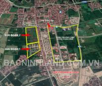 Cần bán nhanh thanh lý lô đất thổ cư Thôn Kênh - Ninh Xá, Thuận Thành, Bắc Ninh, giá chỉ 6 tr/m2