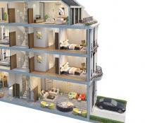 Bán mini hotel 4 tầng 15 phòng biển An Bàng Hội An
