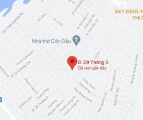 Bán đất đường Đường 29/3, Phường Hòa Xuân, Quận Cẩm Lệ. DT: 210m2 giá 9 tỷ
