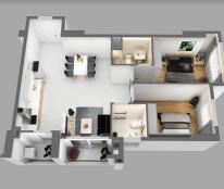 Kẹt tiền cần bán gấp căn hộ 3PN 2WC nhận nhà ở ngay giá gốc CĐT tầng cao view thoáng gần sân bay