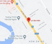 Bán đất đường Lê Văn Hiến, Phường Khuê Mỹ, Quận Ngũ Hành Sơn, DT: 125 m2. Giá: 11,3 tỷ