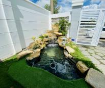 Bán lô đất vườn tặng kèm nhà cấp 4 mới xây Phú Mỹ