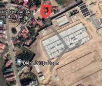 Bán lô đất full thổ cư tại thôn trại 2 - Yên Sơn- Lục Nam Bắc Giang