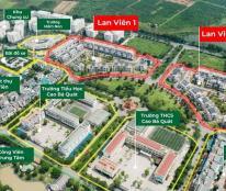 Chỉ từ 10,5 tỷ/căn tại Lan Viên Villa - khu đô thị Đặng Xá, Gia Lâm