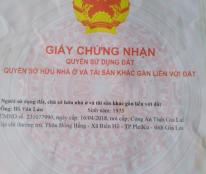 Chủ cần bán gấp lô đất có vị trí đẹp tại Kim Bảng, Hà Nam