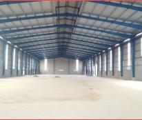Cho thuê kho xưởng mặt tiền Quốc Lộ 1A, diện tích 2.500m2, gần ngã 4 Bà Điểm, Phan Văn Hớn
