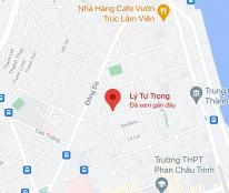 Bán nhà 2 mặt tiền đường Lý Tự Trọng, P. Thạch Thang, Q. Hải Châu, Đà Nẵng. DT: 80m2, giá: 13,8 tỷ