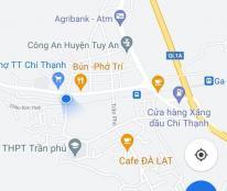 Chuyển nhượng nhà cấp 4, 2 mặt tiền, trung tâm thị trấn Chí Thạnh, H Tuy An, phú Yên