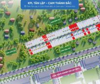 Siêu phẩm đất nền Cam Lâm Với 6,6tr/m2 tổng giá chỉ 700 - 800tr sổ đỏ từng lô - lh 0983323880