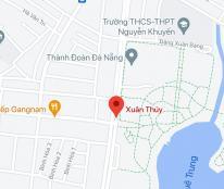 Bán lô đất mặt tiền đường Xuân Thủy, phường Khuê Trung, quận Cẩm Lệ, DT: 97,5 m2. Giá: 8 tỷ