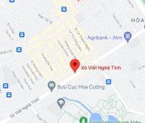 Bán đất đường Xô Viết Nghệ Tĩnh, phường Hòa Cường Nam, Quận Hải Châu. DT: 100 m2. Giá: 10,05 tỷ