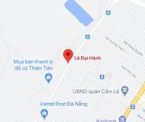 Bán nhà mặt tiền đường Lê Đại Hành, Phường Khuê Trung, Quận Cẩm Lệ, DT: 100 m2, giá: 8 tỷ