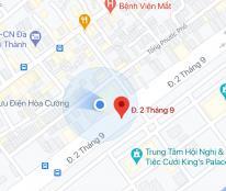 Bán nhà kiệt đường 2/9, phường Hòa Cường Bắc, Quận Hải Châu, DT: 42.2 m2, giá: 2,45 tỷ